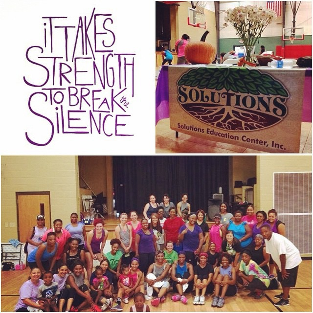 It Takes Strength To Break Silence - Solutions Education Center
